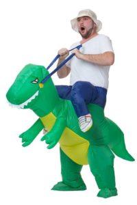 dinosaurier reiten kostüm