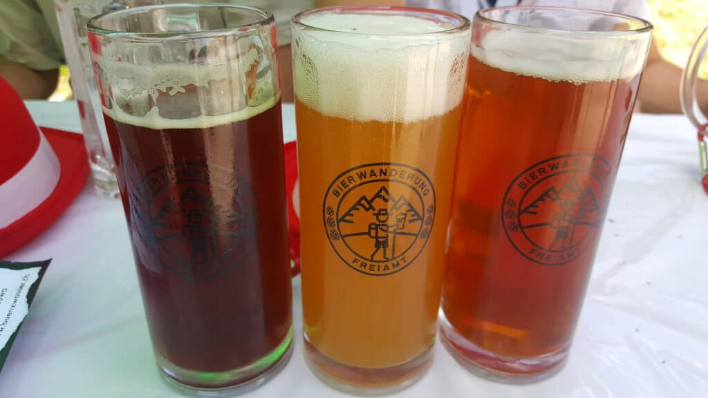 Bierwanderung Freiamt Biersorten