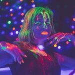 UV Licht Mottoparty